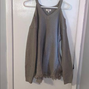 Umgee off the shoulder sweater